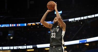 Allen Crabbe of the Brooklyn Nets