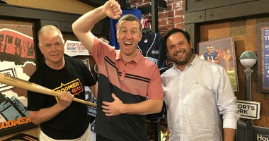 Todd Frazier stops by the Investors Bank Studio for a sit down with Boomer & Gio.