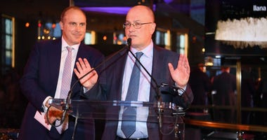 Point72 Asset Management and Gala Chair Steven A. Cohen speaks on stage the Lincoln Center Alternative Investment Gala at The Rainbow Room on April 10, 2019 in New York City.