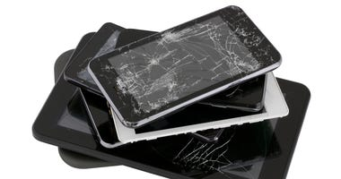 Broken Phones, E Waste