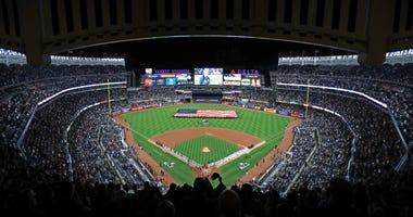 Yankee Stadium before Game 3 of the 2019 ALCS