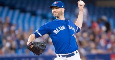 Toronto Blue Jays pitcher J.A. Happ