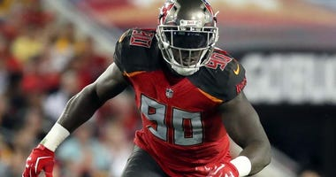 Tampa Bay Buccaneers defensive end Jason Pierre-Paul
