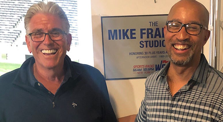 Mike Francesa and Tony Paige