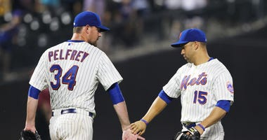Mike Pelfrey and Carlos Beltran