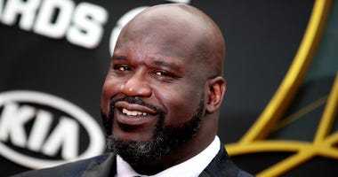 Shaquille O'Neal attends the 2019 NBA Awards at Barker Hangar on June 24, 2019, in Santa Monica, California.
