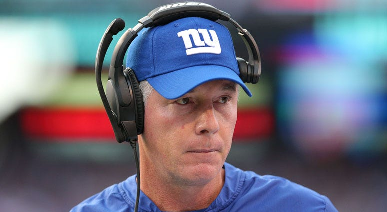 Giants coach Pat Shurmur