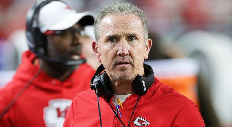 Chiefs defensive coordinator Steve Spagnuolo