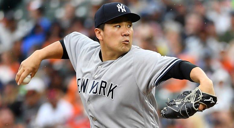 Yankees pitcher Masahiro Tanaka
