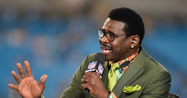 NFL GameDay Kickoff analyst Michael Irvin Sep 12, 2019; Charlotte, NC