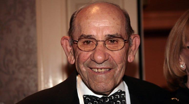 Yogi Berra in 2007