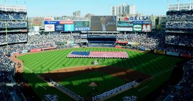 Game 3 at Yankee Stadium