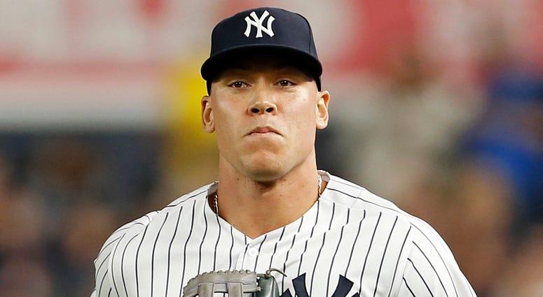 Yankees right fielder Aaron Judge