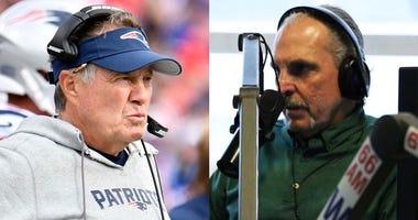 Bill Belichick and Joe Benigno