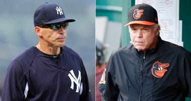 Joe Girardi and Buck Showalter