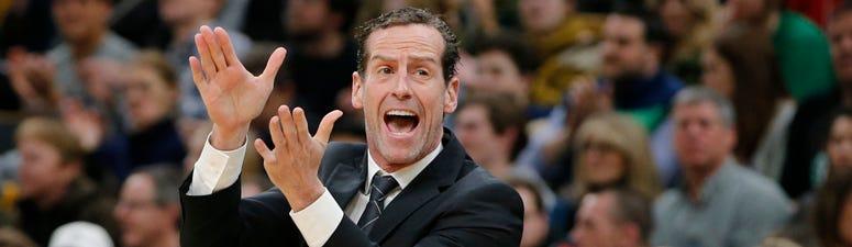 Nets coach Kenny Atkinson