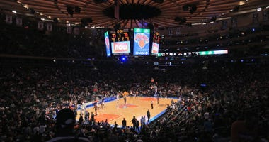 Knicks play the Pacers at Madison Square Garden