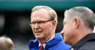 Giants co-owner John Mara prior to a game.