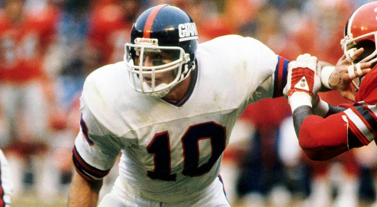 Giants linebacker Brad Van Pelt in 1981