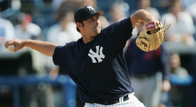 Steve Karsay with the Mets in 2005