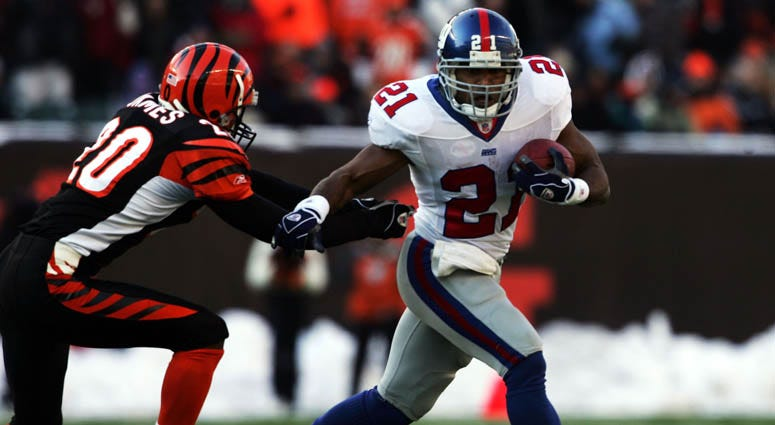 Tiki Barber in 2004