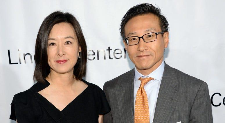 Joseph Tsai with his wife, Clara Wu Tsai