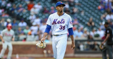 New York Mets pitcher Edwin Diaz (39) on Sep 8, 2019 at Citi Field.