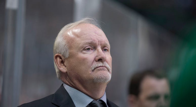 Lindy Ruff as head coach of the Dallas Stars Feb 28, 2017; Dallas, TX