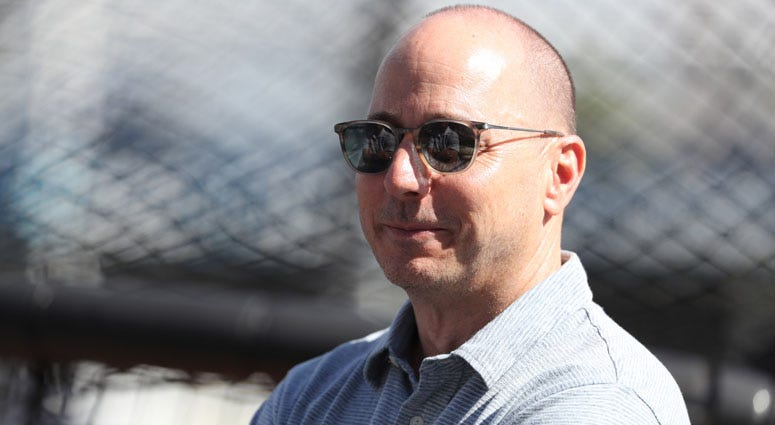 Yankees general manager Brian Cashman