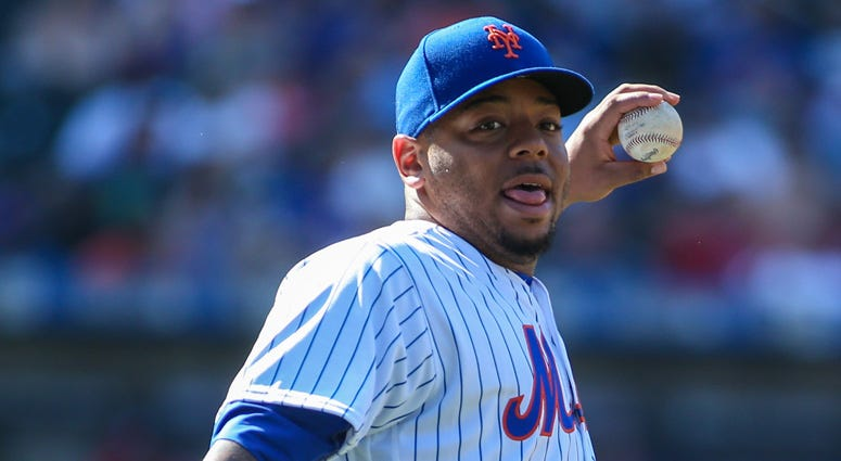 Mets first baseman Dominic Smith