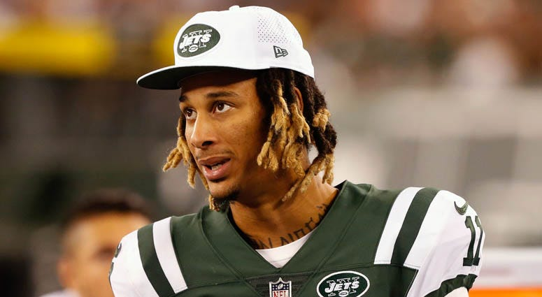 Jets wide receiver Robby Anderson