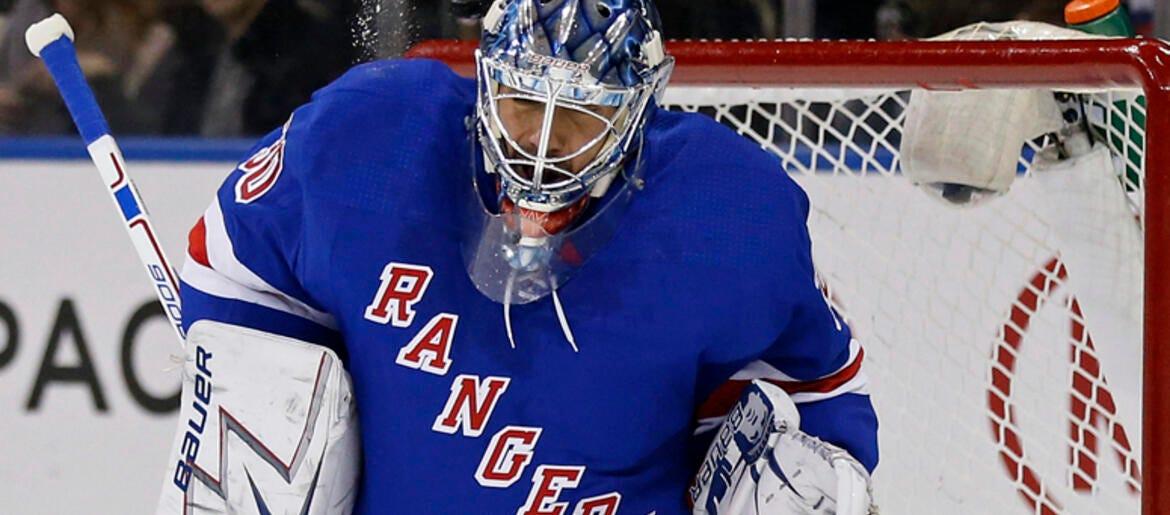 Hartnett: Questions About Lundqvist's Future Loom Over Rangers