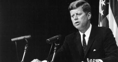President John F. Kennedy speaks at a press conference on Sept. 13, 1962.