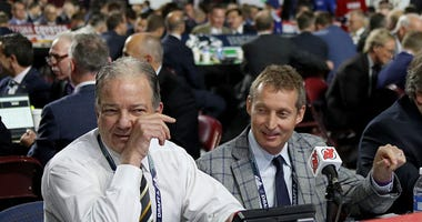 Devils GM Ray Shero at the 2019 NHL Draft