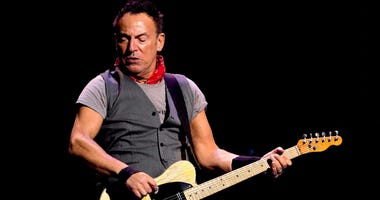 Recording artist Bruce Springsteen performs during The River Tour 2016 at the BB&T Center