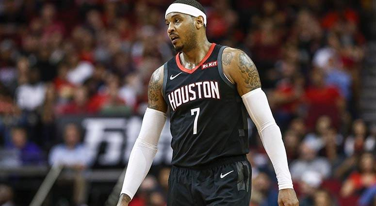Former Knick Carmelo Anthony Gets Set For New Start With Blazers
