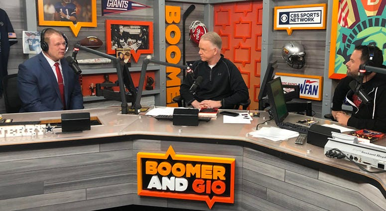 Boomer and Gio interview Kane.