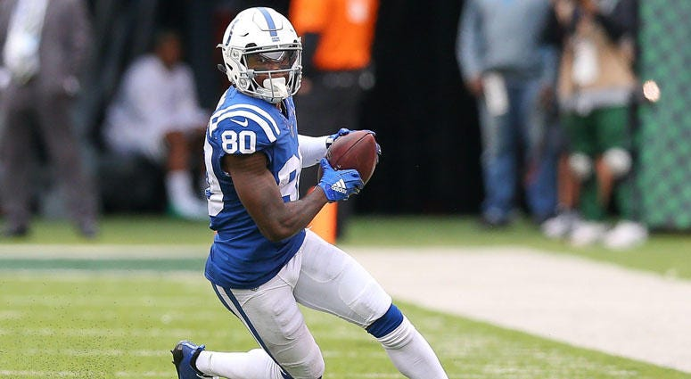 Colts wide receiver Chester Rogers