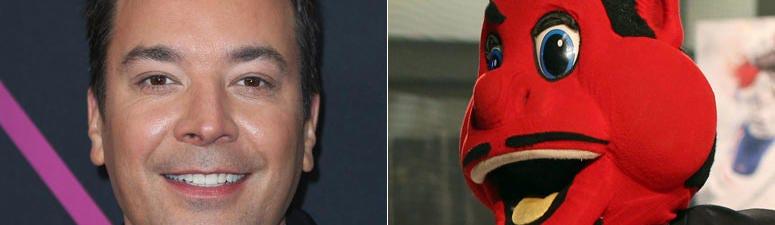 Jimmy Fallon and NJ Devil