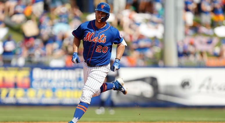 Mets first baseman Pete Alonso