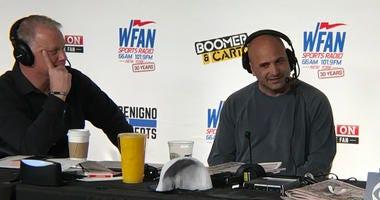 Boomer Esiason and Craig Carton