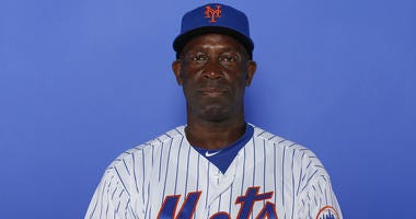 PORT ST. LUCIE, FLORIDA - FEBRUARY 21: Chili Davis #54 of the New York Mets poses for a photo on Photo Day at First Data Field on February 21, 2019 in Port St. Lucie, Florida