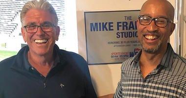 Mike Francesa and Tony Paige