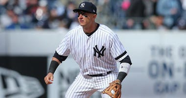 Yankees shortstop Troy Tulowitzki