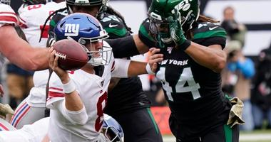 Eww York: Darnold, Jets Hold On To Beat Jones, Giants 34-27