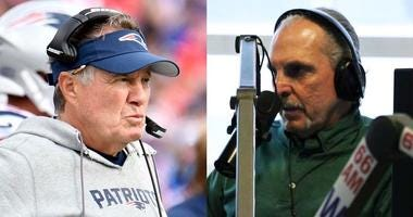 Bill Belichick and Joe Benigno