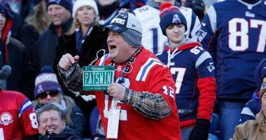 Patriots fans