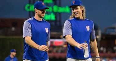 Mets pitchers Noah Syndergaard and Steven Matz