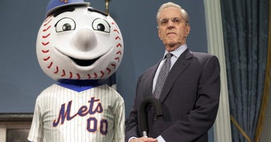 Fred Wilpon and Mr. Met