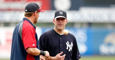 Kevin Youkilis at Yankees spring trainign